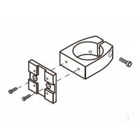 Kast accessoires - Ergotron POLE MOUNT BRACKET KIT FOR PIVO - 97-094-099