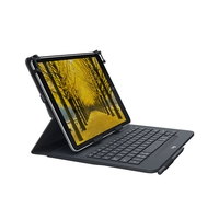 Notebook tassen - Logitech Universal Folio met integrated keyboard for 9-10 inch tablets -Swiss - 920-008339