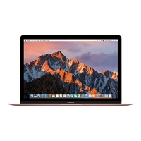 "Notebooks - Apple MacBook - Core i5 1.3 GHz - OS X 10.13 Sierra - 8 GB RAM - 512 GB Solid State Disk (SSD) - 12"" IPS 2304 x 1440 - HD Graphics 615 - Wi-Fi, Bluetooth - rosegoud - tsb Nederlands QWERTY - MNYN2N/A"