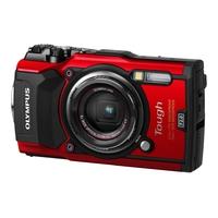 Digitale fotocameras - Olympus Tough TG-5 - Digitale camera - compact - 12.0 MP - 4K / 30 beelden per seconde - 4x optische zoom - Wi-Fi - onder water maximaal 15 meter - rood - V104190RE00