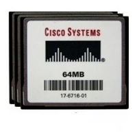 Memory Keys  - Cisco 64MB COMPACT FLASH MEMORY **New Retail** - MEM1800-64CF=