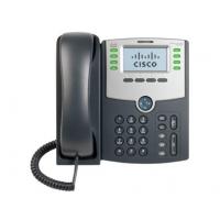 Telefoon - Cisco Small Business SPA 508G - VoIP-telefoon - SIP, SIP v2, SPCP - multiline - zilver, donkergrijs - voor Small Business Pro Unified Communications 320 met 4 FXO - SPA508G