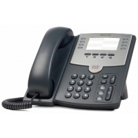 Telefoon - Cisco Small Business SPA 501G - VoIP-telefoon - SIP, SIP v2, SPCP - multiline - zilver, donkergrijs - voor Small Business Pro Unified Communications 320 met 4 FXO - SPA501G
