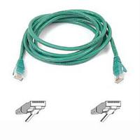 Kabels - Belkin Cable/patch CAT5 RJ45 snagless 10m green - A3L791B10M-GRNS