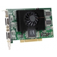VGA kaarten - Matrox Millenium G450 PCI 128Mb Quad monitor connection Analog or DVI (cables incl). Full height. Half size - G45X4QUAD-BF