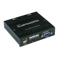 VGA kaarten - Matrox Dual Head 2 GoTurns virtually any graphics card (NotebookDesktop PC) in a dual head solutionExternal boxUSB Powered - D2G-A2A-IF