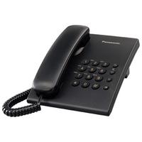 Telefoon - Panasonic KX-TS500 Zwart incl. answering machine - KX-TS500EXB