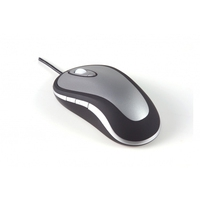 Muizen - BakkerElkhuizen Bakker Elkhuizen Laser Mouse - Muis - laser - 6 knoppen - met bekabeling - USB - BNELMD