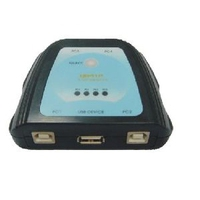 USB Hubs - Microconnect 4 Port Manual USB Switch 4 PC:S to 1 USB Device - UB-41P