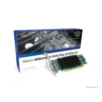 VGA kaarten - Matrox Millenium P690 Plus 256MB PCIe x16 Low Profile 2xDVI-I - 1920x1200(digital)/2048x1536(analog) fanless 11.8W - quad-upgradable met CAB-L60-4XAF - P69-MDDE256LAUF