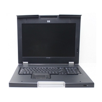 Rack monitor consoles - HP Monitor and keyboard (Duits) - 406500-041