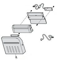 Bon printers - Honeywell Cutter Interner cutter kit (Field installable), for Honeywell PD41/PD42 - 1-207109-801