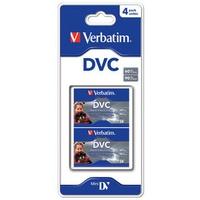 Overige opslagmedia - Verbatim 60 minute DVC 4 pack. Blister packing - 47654