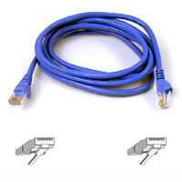 Kabels - Belkin Cat6 Snagless Patch Cable 2m Blue - A3L980B02M-BLUS