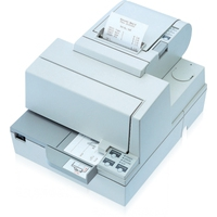 Matrix printers - Epson TM-H 5000 II, LPT, cutter, wit Multi-station printer, direct thermisch, mediabreedte (max): 80 mm, snelheid(max): 120mm/sec., parallel, afsnijdmechanisme, ESC/POS, apart bestellen, interface kabel, voeding, kleur: wit - C31C249012