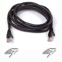 Kabels - Belkin Cat6 Snagless Patch Cable 50cm Zwart - A3L980B50CM-BKS