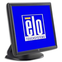 Touch screen monitoren - Elo 1915L, 48.3 cm (19), AT, donkergrijs touch monitor (4:3), 48.3 cm (19), AccuTouch, 1280x1024 pixels, VESA mount, 5ms, helderheid: 187cd, kijkhoek: 160/160°(H/V), contrast: 800:1, VGA, touch interface: USB, RS232, netsnoer (EU), kleur: donkergrijs - E607608