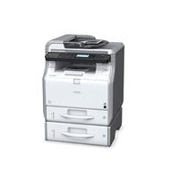 Multifunctionele printers - Ricoh SP 3600SF - Multifunctionele printer - Z/W - LED - A4 (210 x 297 mm) (origineel) - A4 (doorsnede) - maximaal 30 ppm LED - maximaal 30 ppm (printend) - 350 vellen - USB 2.0, Gigabit LAN, USB host - 906515