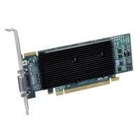VGA kaarten - Matrox M9120Plus 512MB DDR2 PCIe x16 Low Profile 1xLFH-60 to 2xDVI-I - 1920x1200(digital)/2048x1536(analog) fanless - quad-upgradable (analog) met CAB-L60-4XAF - M9120-E512LPUF