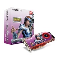 VGA kaarten - Gigabyte RADEON HD 4870 512MB DDR5 - GV-R487-512H-B