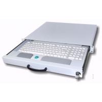 Rack monitor consoles - aixcase Keyboarddrawer 1H Emty Beige - AIX-19K1U-W