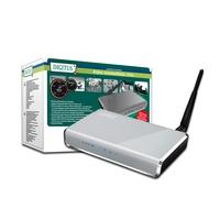 Wireless access points - Digitus WL 150N BB AP Router 150Mbps 1x RJ45 WAN.4x RJ45 Netwerk - DN-7049-1