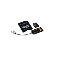 Memory Keys  - Kingston Multi-Kit / Mobility Kit - Flashgeheugenkaart (Adapter voor microSDHC naar SD inbegrepen) - 32 GB - Class 10 - microSDHC - met USB Reader - MBLY10G2/32GB