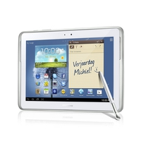 "Tablet PC - Samsung N8010 Galaxy Note 10.1 "" - wit - 16 GB - wireless - GT-N8010ZWAPHN"