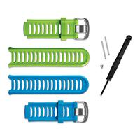 Navigatie (GPS) - Garmin Forerunner 910XT Bands Pack includes green and blue bands - 010-11251-23