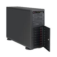 "Servers - Supermicro 4U / Tower, 865W PS (low noise), 8x 3.5"" Hot-swap - CSE-743TQ-865B-SQ"