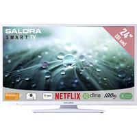 """TV s - Salora 24LED9112CSW - 24"""" Klasse - 9100 Series LED-tv - Smart TV - 720p - wit - 24LED9112CSW"""