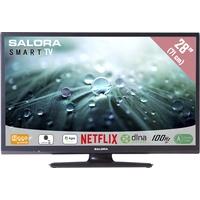 """TV s - Salora 28LED9102CS - 28"""" Klasse - 9100 Series LED-tv - Smart TV - 720p - dof zwart - 28LED9102CS"""