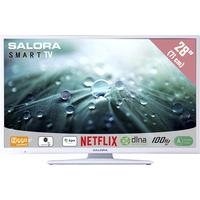 """TV s - Salora 28LED9112CSW - 28"""" Klasse - 9100 Series LED-tv - Smart TV - 720p - wit - 28LED9112CSW"""