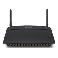 Routers - Linksys EA2750 - Draadloze router - 4-poorts switch - GigE - 802.11a/ b/ g - Dual Band - EA2750-EU
