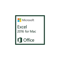 Spreadsheets - Microsoft ExcelMac 2016 AllLng OLV 1License LevelD AdditionalProduct Each - D46-00932