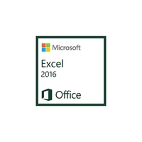 Spreadsheets - Microsoft Excel 2016 Government OLP 1License NoLevel - 065-08592