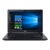 Notebooks - Acer V3-372-50EC 13.3i HD Acer ComfyView LCDIntel Core i5-6200U 4 GB DDR3 Low Voltage Memory 128GB Solid State Disk (SSD) UMA N 802.11ac + BT Zwart Qwerty - NX.G7BEH.009