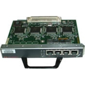 Interfacecomponenten  - Cisco 4-PORT ETHERNET 10BASET **New Retail** - PA-4E=